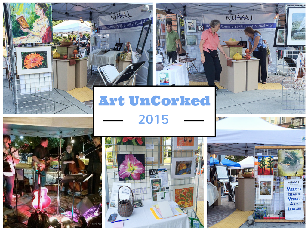 Art Uncorked '15 postcard