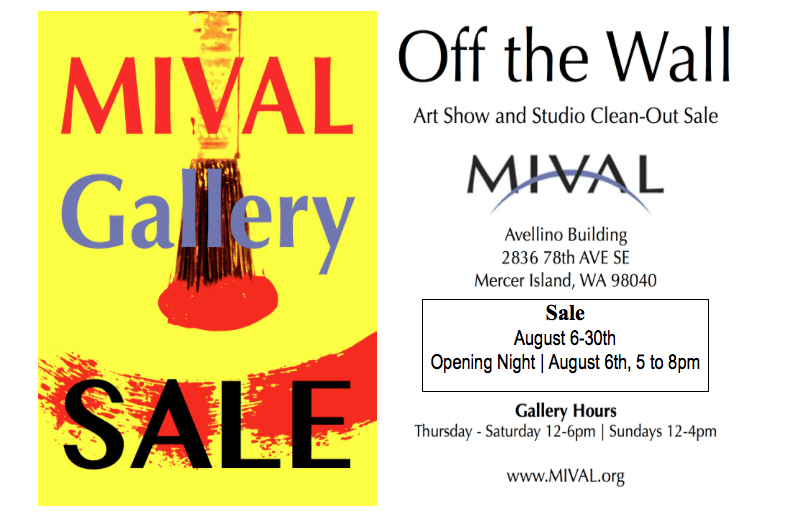 August Gallery Sale