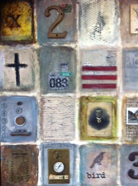 Lesley West encaustic art