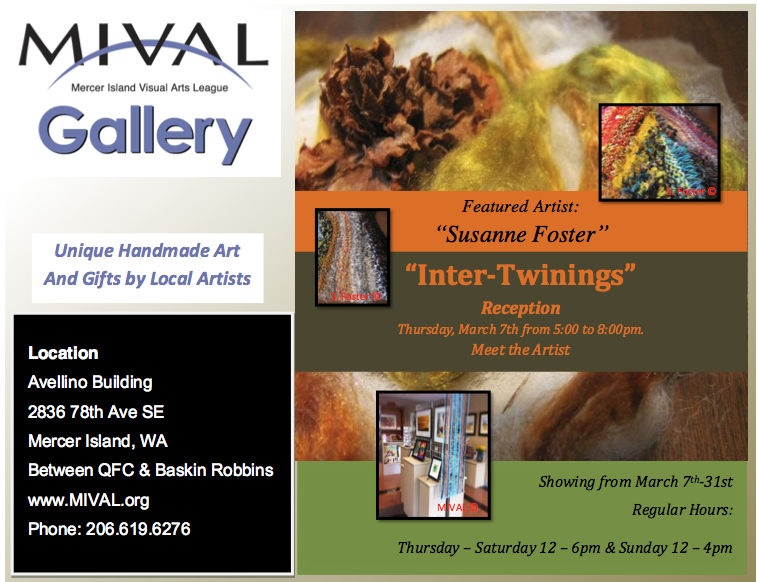 MIVAL March Gallery Flyer 2013