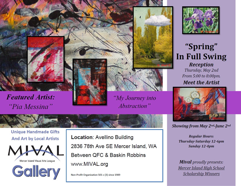 Gallery May Flyer