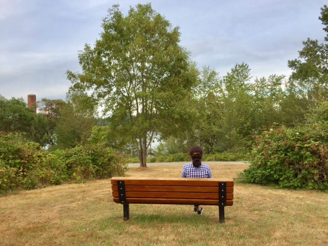 Sally's Bench at Luther Burbank Park