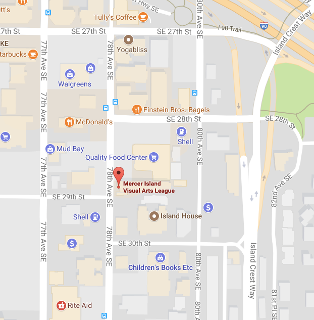 Map to MIVAL Gallery
